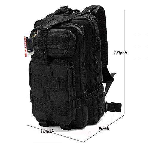 Egreaten Tactical Backpack Camping Bags Waterproof Molle System Backpack Military 3P Tad
