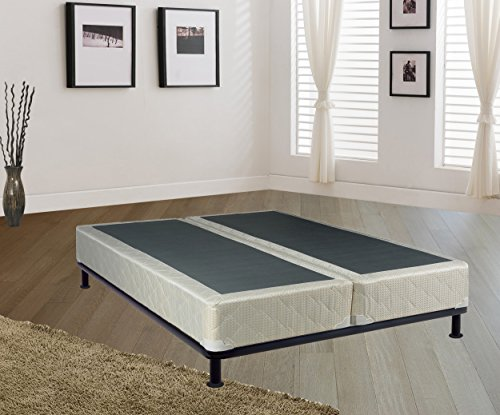 Spring Coil Dream Collection Fully Assembled 8'' Split Box Springs for Mattress, Full by Spring Coil