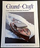 VINTAGE GRAND-CRAFT MAHOGANY RUNABOUTS SALES BROCHURE NICE 4 PAGES (526)