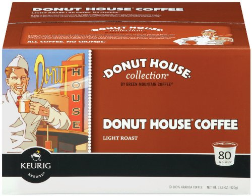 Donut House Light Roast (Donut House Coffee,  K-Cup Portion Pack for Keurig K-Cup Brewers, Light Roast 12-Count (Pack of)