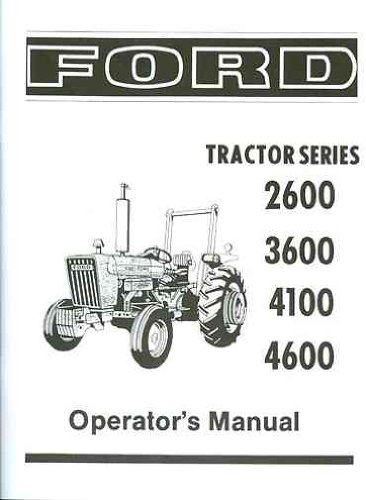 2600 Ford Tractor Specifications : New book review tractor