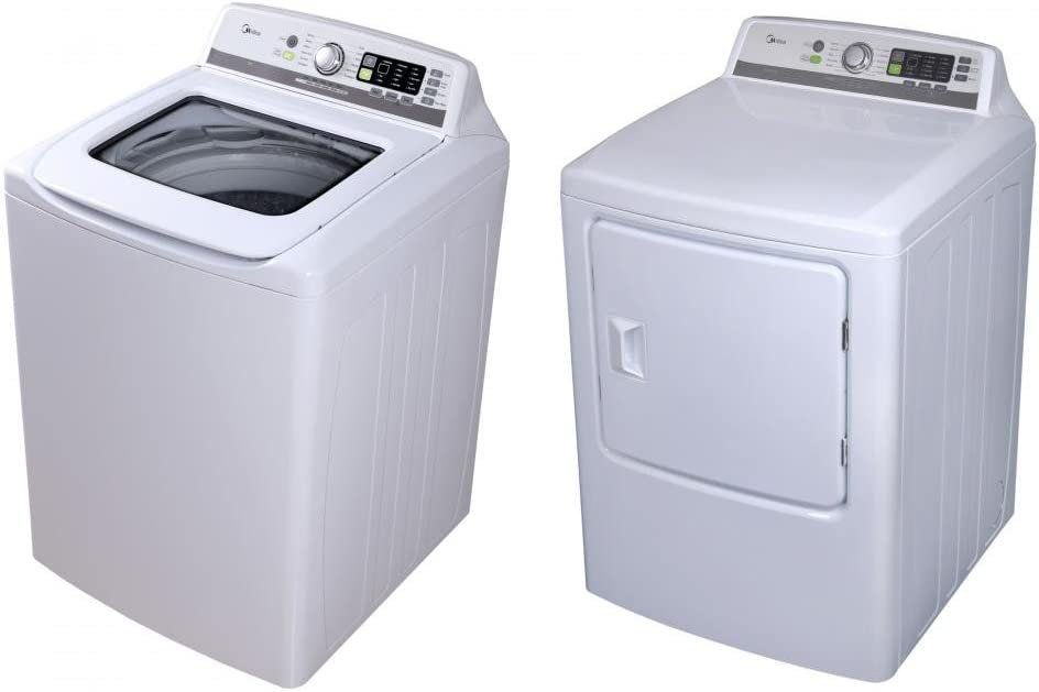 Ft Washer and DLEX7700VE 9.0 Cu Ft Capacity Electric Dryer LG Graphite Steel Top Load Laundry Pair with WT7700HVA 29 5.7 Cu