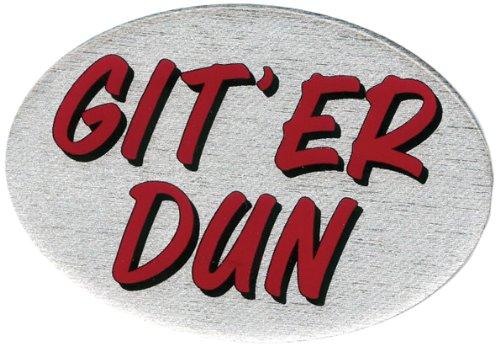Knockout 535 Git Er Dun Plastic Hitch Cover