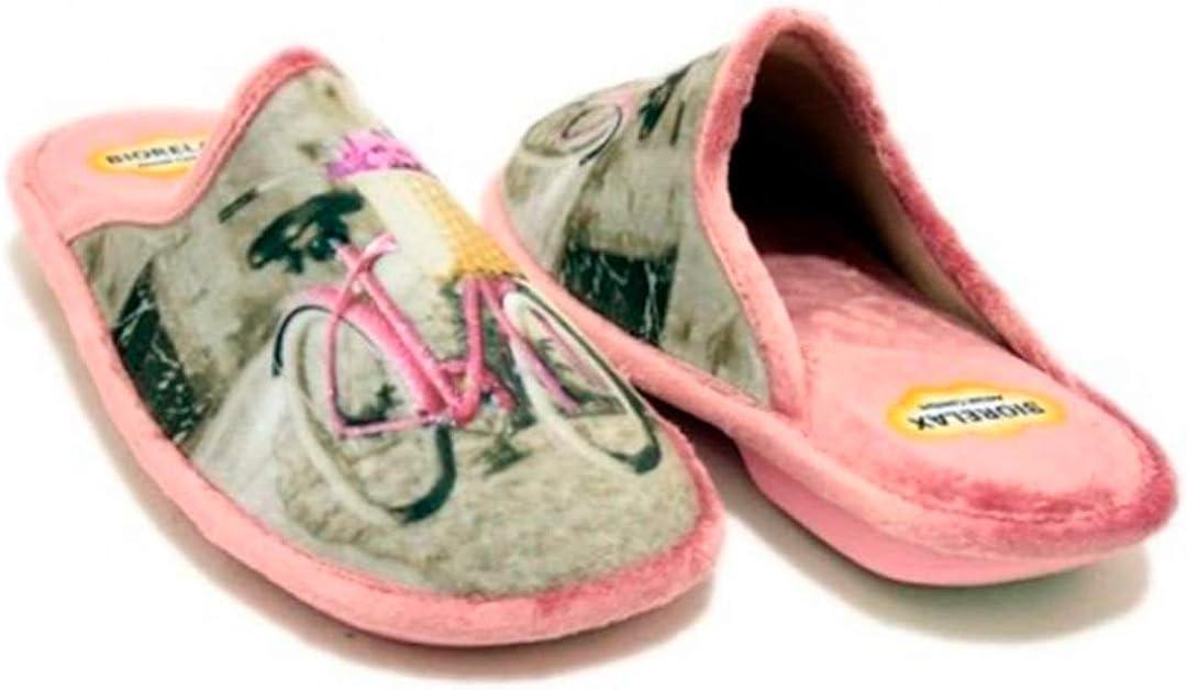BIORELAX Zapatillas DE CASA para Mujer COSDAM COSDAM Terciopelo