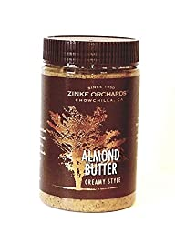 Zinke Orchards Creamy Almond Butter(3Pack) 16oz Jars