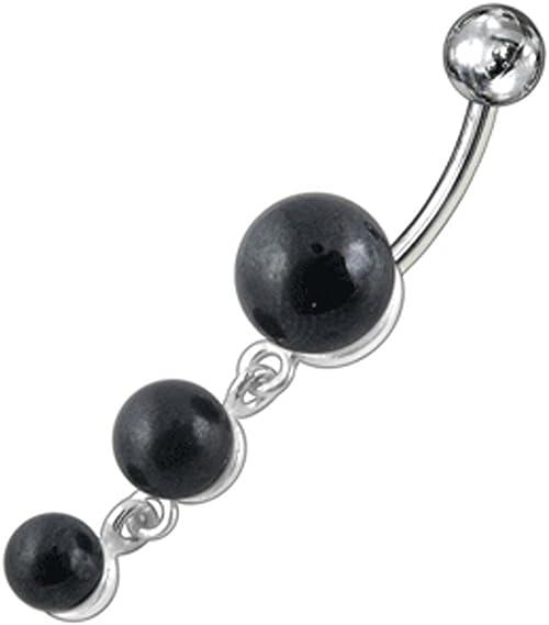 10//30//50 mixto bola barra de bar ombligo anillo botón piercing joyer RTCJHJH