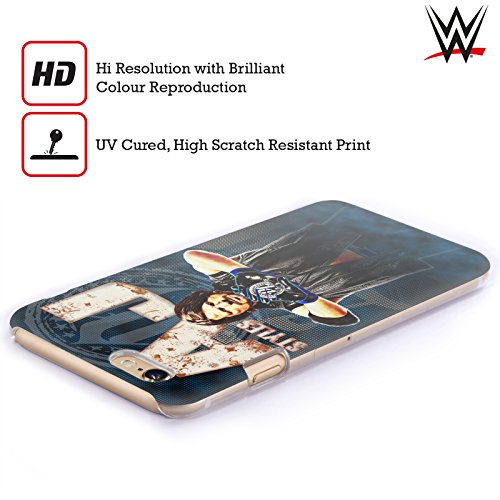 Officiel WWE AJ Styles Superstars Étui Coque D'Arrière Rigide Pour Apple iPhone 6 / 6s