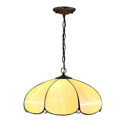 DSHBB Lámpara Colgante De Estilo Tiffany, Lámpara De Cristal ...