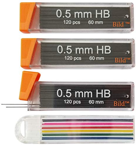 (0.5 mm Premium Mechanical Pencil Lead Refills 360 pieces of 0.5mm lead refill)
