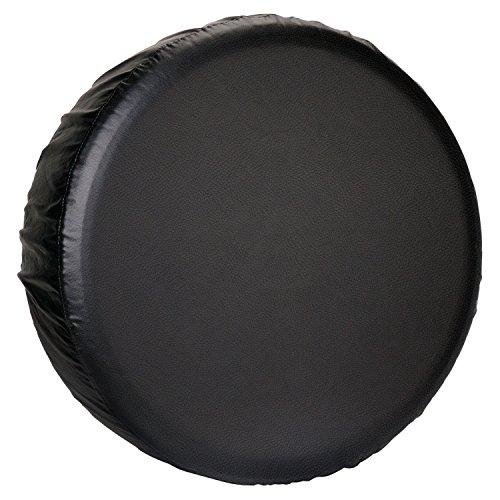 Truck Tire Cover Spare (Leader Accessories Univesal Spare Tire Cover for Jeep, Trailer, RV, SUV, Truck Wheel (Black Premium, 33