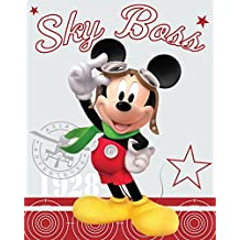Disney Mickey Mouse Sky Boss Fleece Blanket By BestTrend