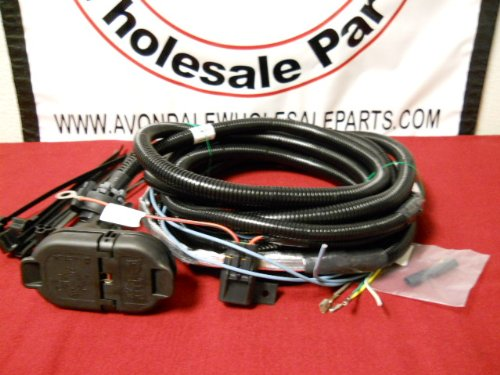 Trailer Wiring Harness For 2005 Jeep Grand Cherokee : Jeep grand cherokee  trailer wiring harness pin