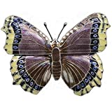 Mourningcloak Butterfly Cloisonne Pin