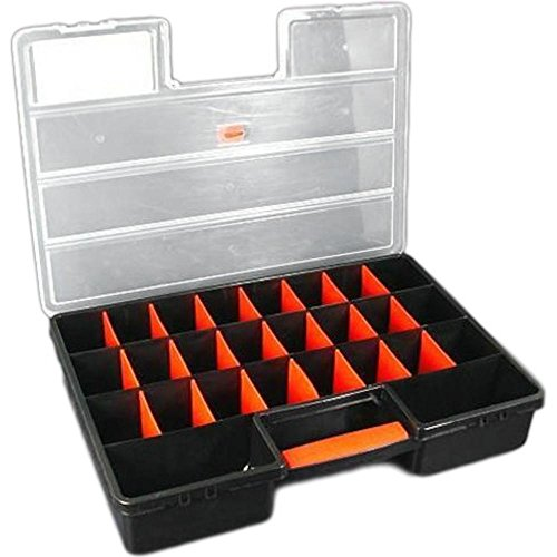 Store-It-All Bead Craft Beading Storage Case Tray Tote