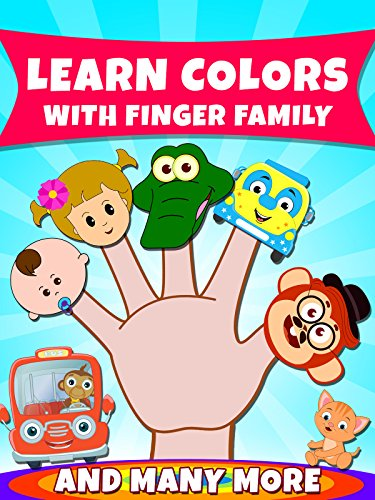 Daddy Finger Song Halloween (Learn Colors With Finger Family And)