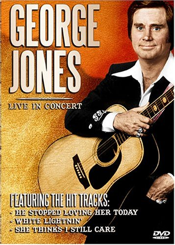 George Jones: Live in Concert by Bci / Eclipse Music