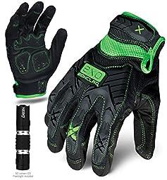 Ironclad EXO-MIG-05-XL Motor Impact Gloves, X-Large