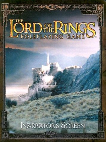 Narrator's Screen (The Lord of the Rings Roleplaying Game)