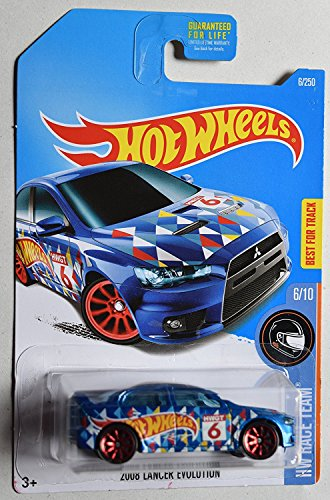 Hot Wheels 2017 HW Race Team 2008 Mitsubishi Lancer Evolution