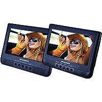 Sylvania SDVD1010 10.1 Dual Screen Portable DVD with USB Card Slot (Certified Refurbished)