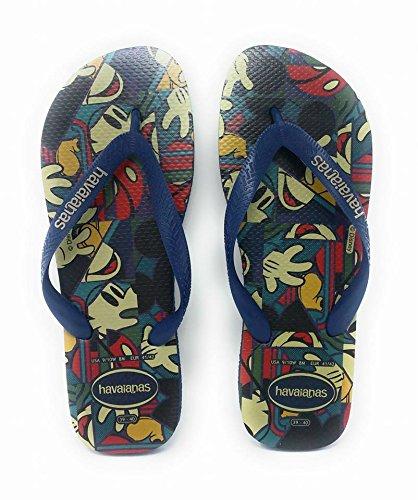 Havaianas Navy Stylish Flip Flop Women's blue Sandal Disney rRxwAHqr4