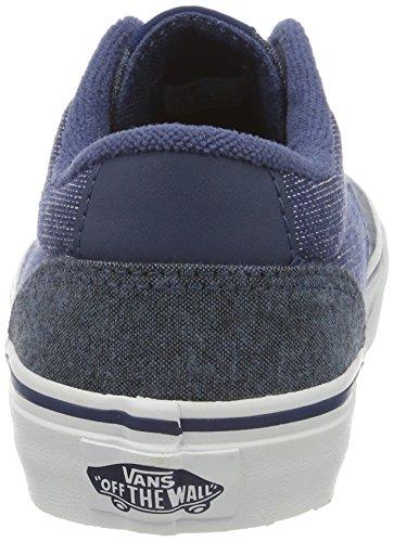 Vans YT Winston, Zapatillas Para Niños Azul (Mixed)