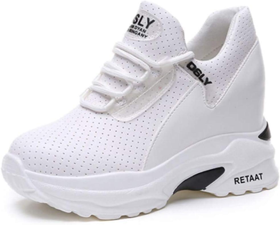 DOSOMI - Zapatillas de tacón Alto para Mujer, 8 cm de Altura, Plataforma al Aire Libre, Transpirables, Zapatos de Ocio: Amazon.es: Deportes y aire libre