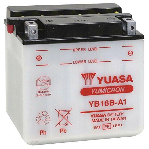 Yuasa–Batteria YB16B-A1 Combipack (con elettrolito)