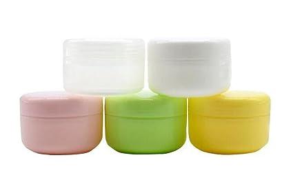 6PCS 100ml 3 5oz Empty Refillable Plastic Face Cream Eye Shadow Jar  Container Pot Lip Balm Lotion Storage Make-up Cosmetic Jars Bottle Case  Holder