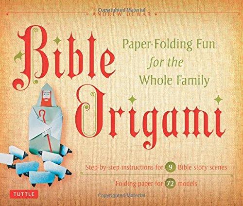 Bible Origami Kit Paper Folding Family product image