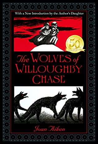 book cover of The Wolves of Willoughby Chase
