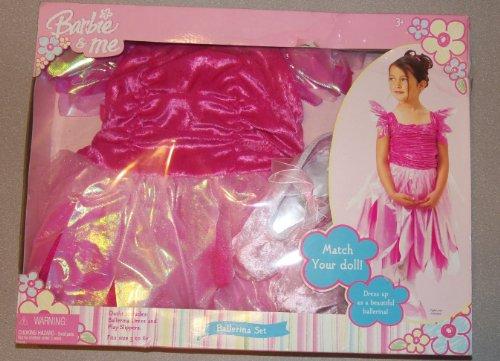 Barbie & Me Dress Up Set - Ballerina Set - Barbie Ballerina Costumes