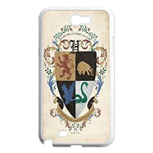 [bestdisigncase] For Samsung Galaxy Note 2 -The Marauders Map - Harry Potter Pattern PHONE CASE 10