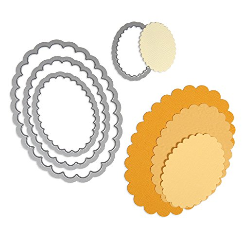 Set 4/PK - Ovals, Scallop ()