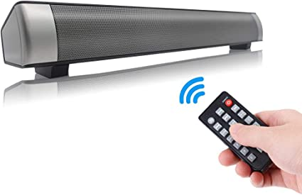 Sound bar for TV//cellphone//tablet Wall mountable wired//wireless bluetooth bass s