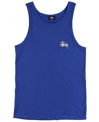 14404b781ad64 Amazon.com  Stussy - Mens Basic Stussy Tank Top  Clothing