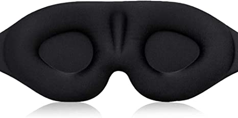 Amazon アイマスク 立体型 軽量 遮光 安眠マスク 柔らかい 男女兼用 圧迫感なし 付け心地良い 眼精疲労の軽減 光を完全に遮断 長さが調節できる 昼寝 仮眠 旅行に最適 Corkas アイピロー アイマスク