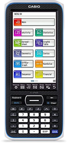 CASIO FX-CP400 ClassPad II FX Graphischer Taschenrechner, schwarz