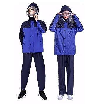 GRYY Traje Azul Impermeable, Pantalones Impermeables ...