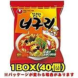『農心(ノンシム)』ノグリラーメン(辛口)(■BOX 40入) <韓国ラーメン>