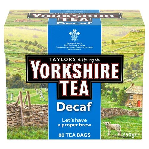 - Yorkshire Decaffeinated Tea, 80 Teabags
