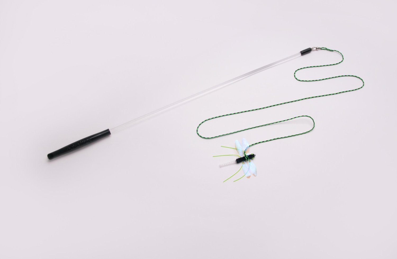 Neko Flies - Kragonfly with Rod - Interchangeable Toy