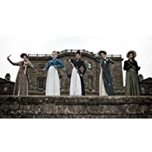 """Pride and Prejudice and Zombies - Movie Poster (2016), Size 12 x 21"""" Inches , Glossy Photo Paper (Thick 8mil)"""