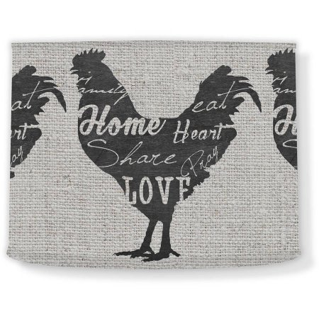 Love and Share Rooster I, 12'' x 10'' Lamp Shade