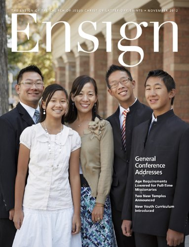 Ensign, November 2012 (Ensign Magazine) by [The Church of Jesus Christ of