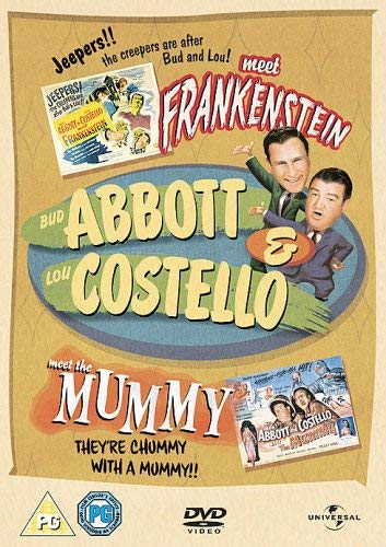 Abbott and Costello Meet Frankenstein/Abbott and Costello Meet the Mummy (PAL)
