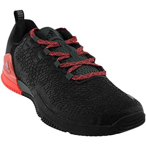adidas Women's CrazyPower TR W Cross Trainer, Black/RED Night/Easy Coral, 6.5 Medium US