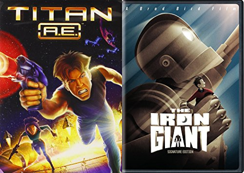 [Animated Movie Bundle - Iron Giant & Titan A.E. 2-Movie Set] (Halloween Sesame Street)