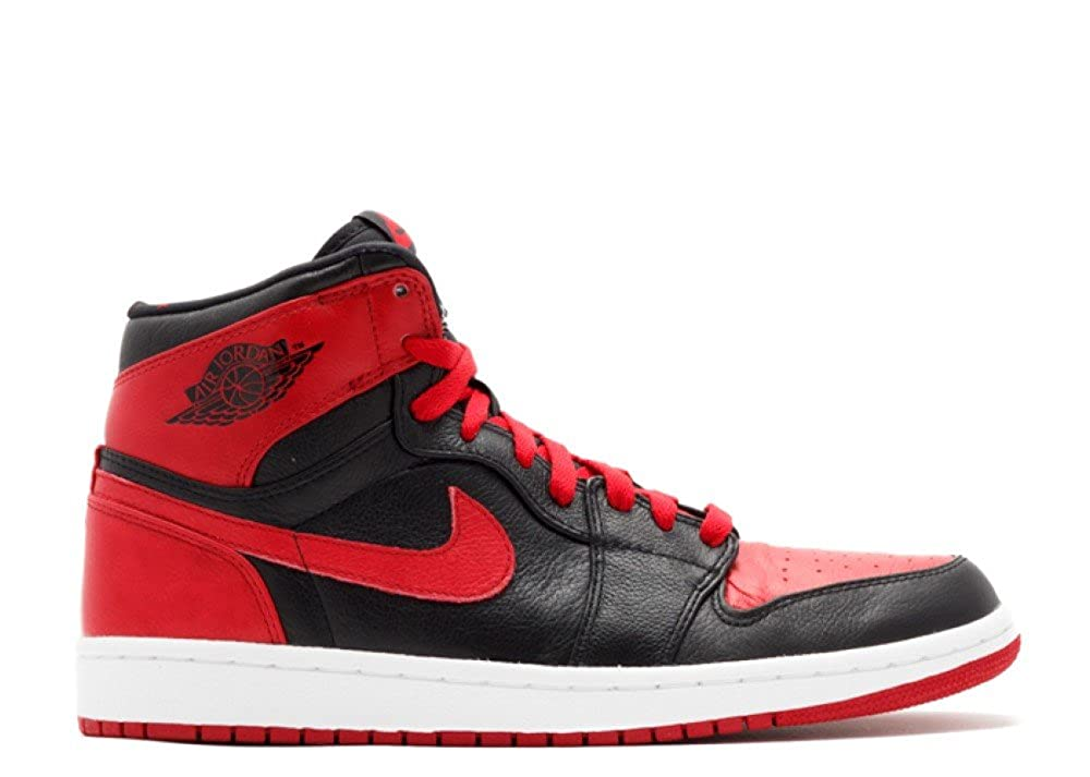 nike air jordan 1 black red