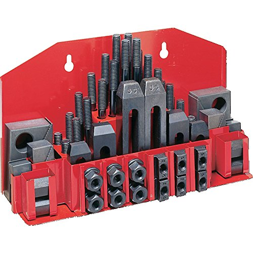"Jet 660038 CK-38, 52-Piece Clamping Kit with Tray for 3/8"" T"
